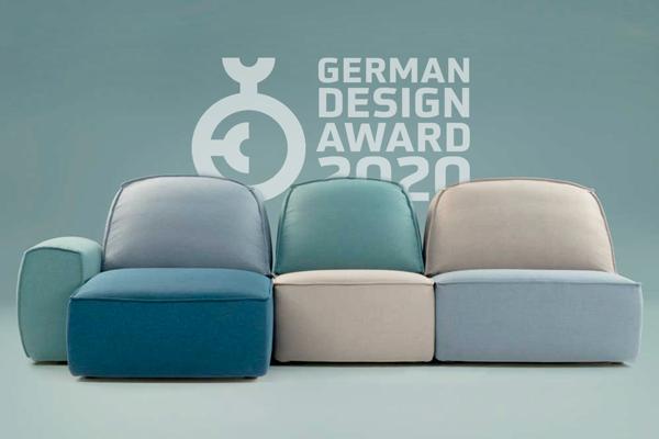 Lazy di Calia Italia riceve la nomination al German Design Award 2020