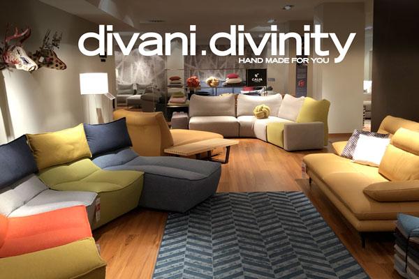 Divani Divinity, lo showroom Calia Italia nel cuore di Roma