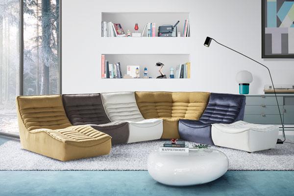 Stoffe per divani: alcuni consigli per abbinare colori e tessuti