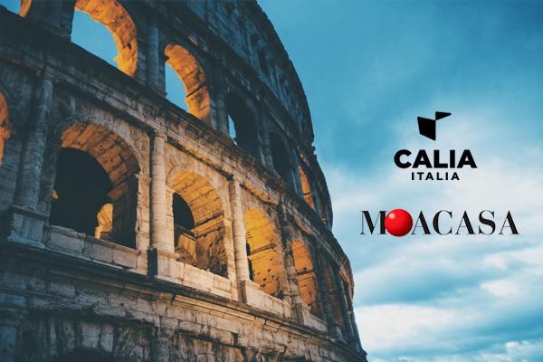 Calia Italia al 45° MOA Casa di Roma