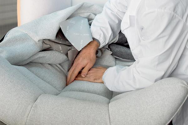 I divani Calia Italia: l'assemblaggio