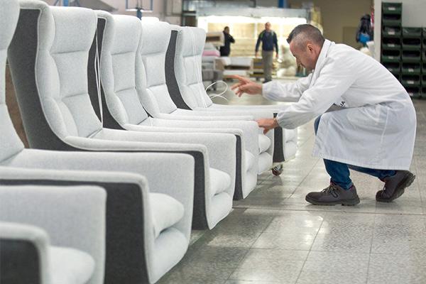 I divani Calia Italia: verifica e controllo