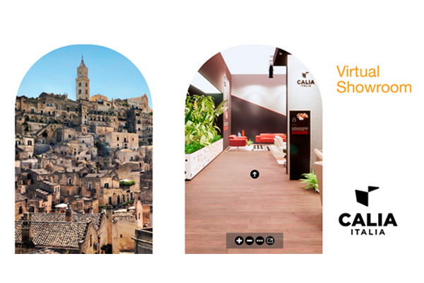 Caliaitalia - 'The Virtual Showroom' – A new virtual experience from Calia Italia.