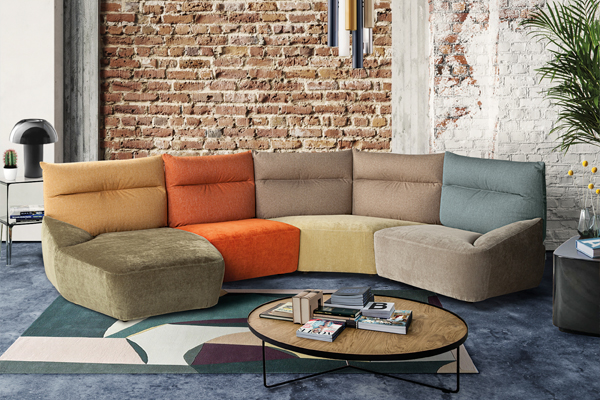 Caliaitalia - How to choose a colourful sofa.