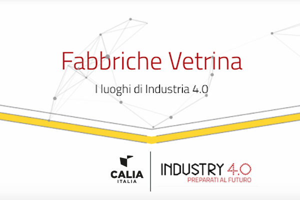 Caliaitalia - Calia Italia among Confindustria's Showcase Factories