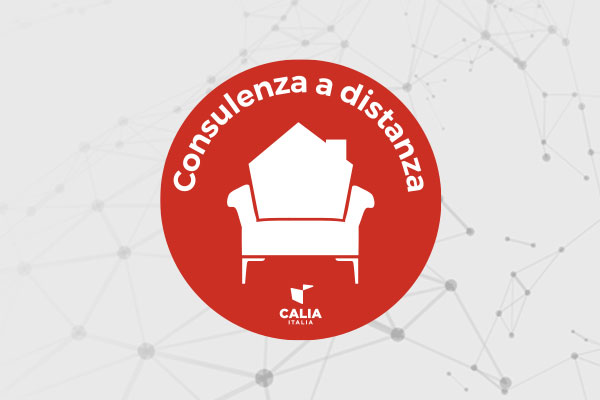 Caliaitalia - Remote consultations: The new comfort experience offered by Calia Italia