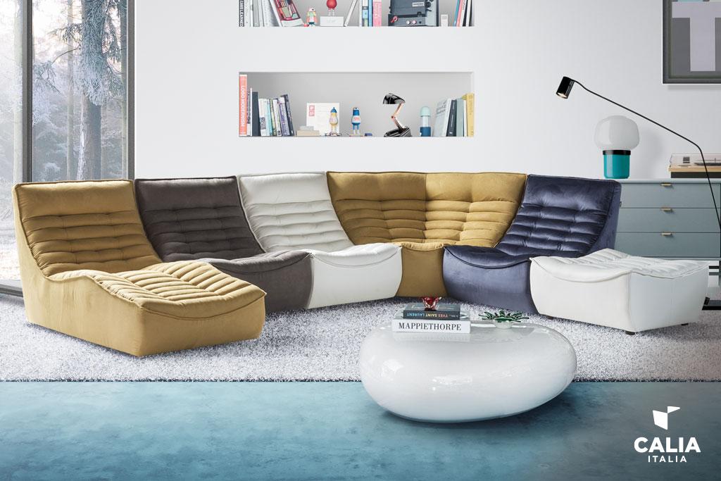 calia italia divano fox trot
