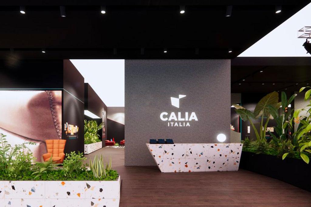 Calia Italia virtual showroom