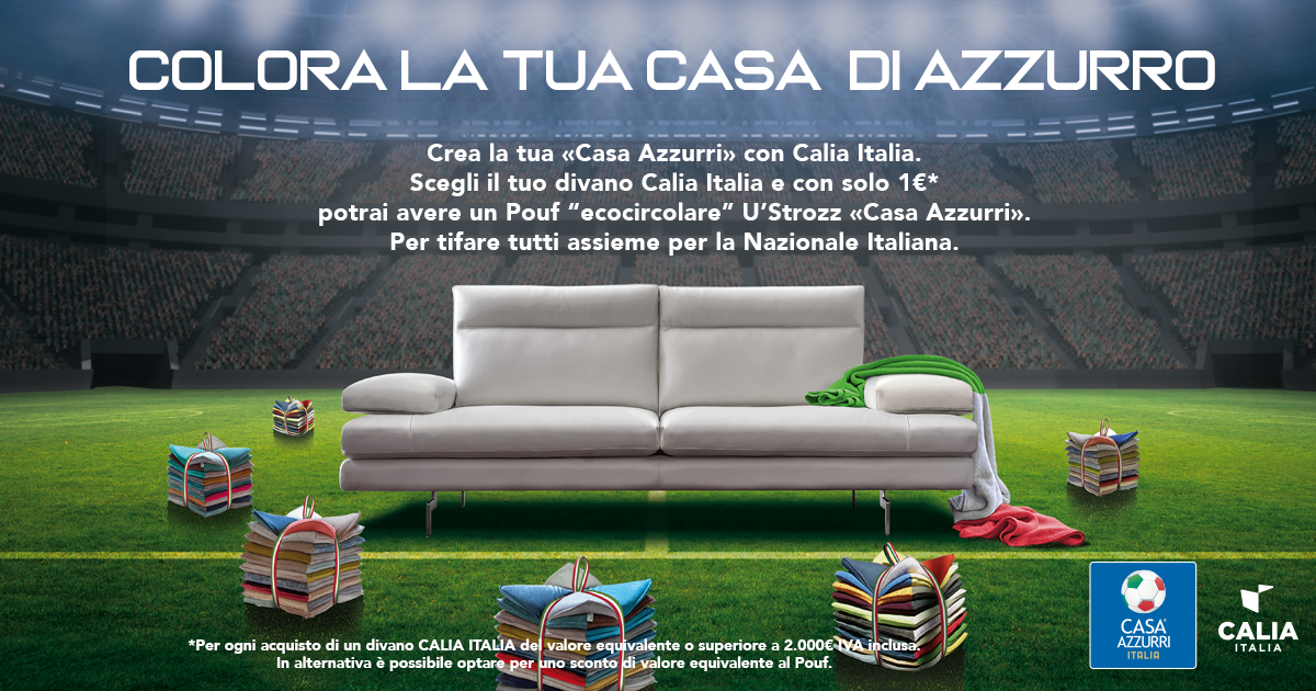 Caliaitalia - 'Colour your home blue': Calia Italia's limited edition 'Casa Azzurri' U'Strozz