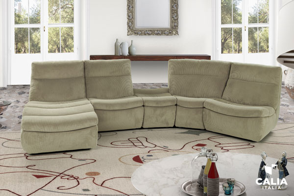 Caliaitalia - How to choose a sofa colour: combinations for all types and tips