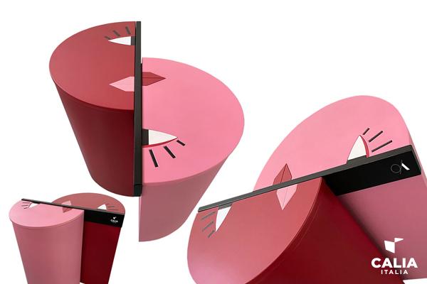 Tibacio il nuovo pouf tavolino di Calia Italia al Salone 2021 cover WEB