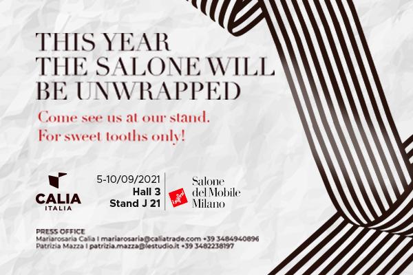 Caliaitalia - Salone del Mobile di Milano 2021: collections and exclusive products presented by Calia Italia at the Supersalone