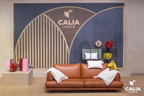 Caliaitalia - Calia Italia at 'Salone del Mobile 2021': the new Gourmandise collection surprises with comfort and chocolate
